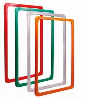 Plakatrahmen DIN A4, transparent