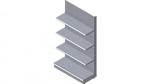 wandregal anbauregal von tegometall l nge 125 cm h he. Black Bedroom Furniture Sets. Home Design Ideas