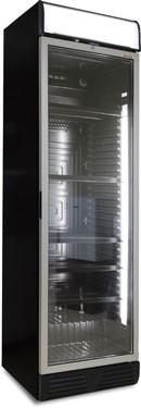 Glastür-Kühlschrank | AHT 375 C black HC LED
